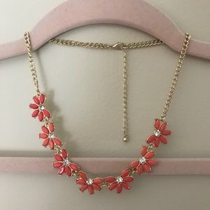 Pink & Gold Chunky Necklace